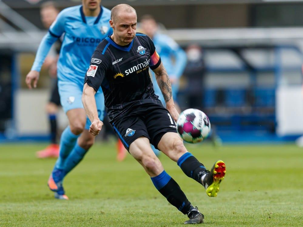 Bis 2023: Paderborn verlängert mit Sven Michel. ©FIRO/SID