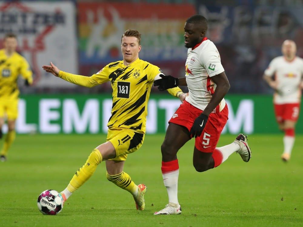Partien von Dortmund und Leipzig auf Sonntag verlegt. ©FIRO/SID