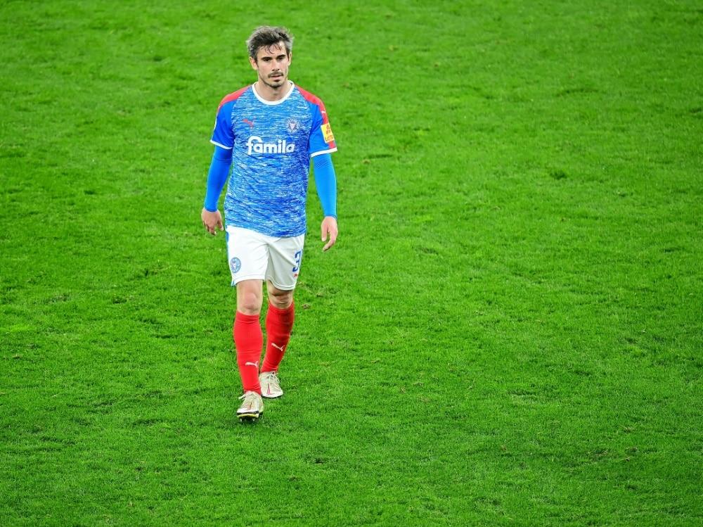 Fin Bartels nach dem Pokal-Aus gegen Borussia Dortmund. ©FIRO/SID