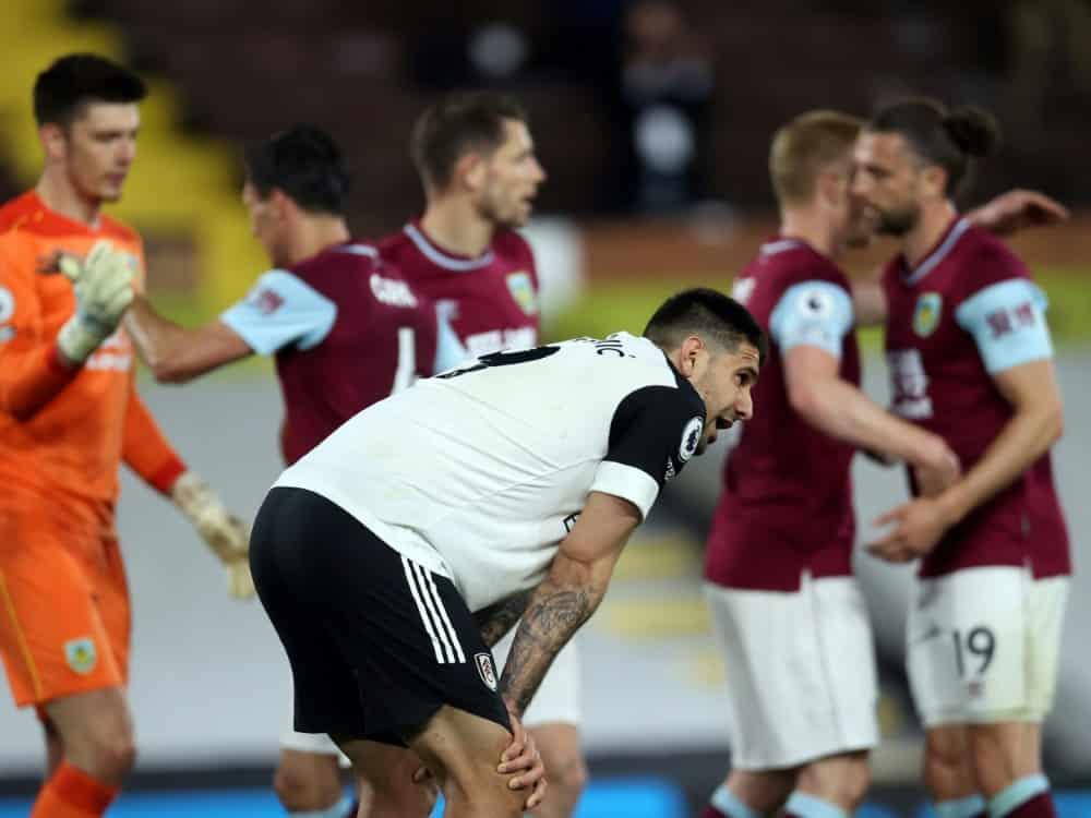 Burnley jubelt - Der FC Fulham steigt ab. ©SID CLIVE ROSE