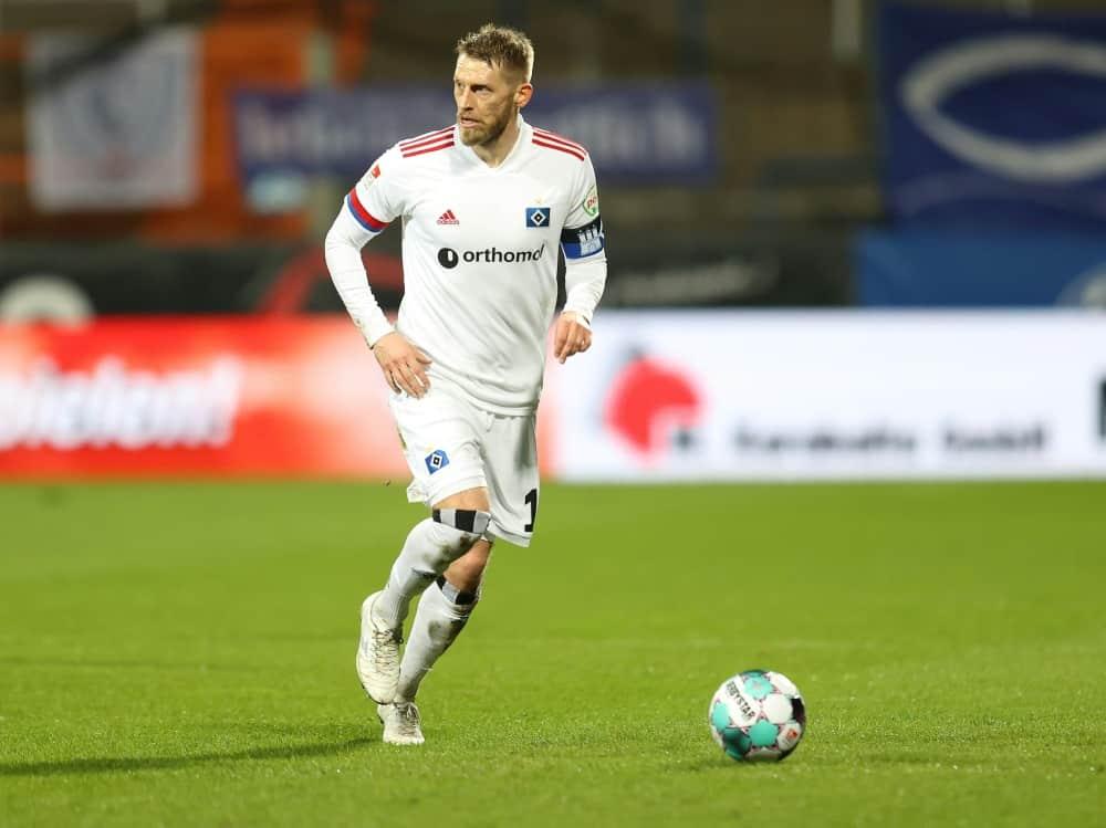 Aaron Hunt fehlt dem HSV im Saisonendspurt. ©FIRO/SID