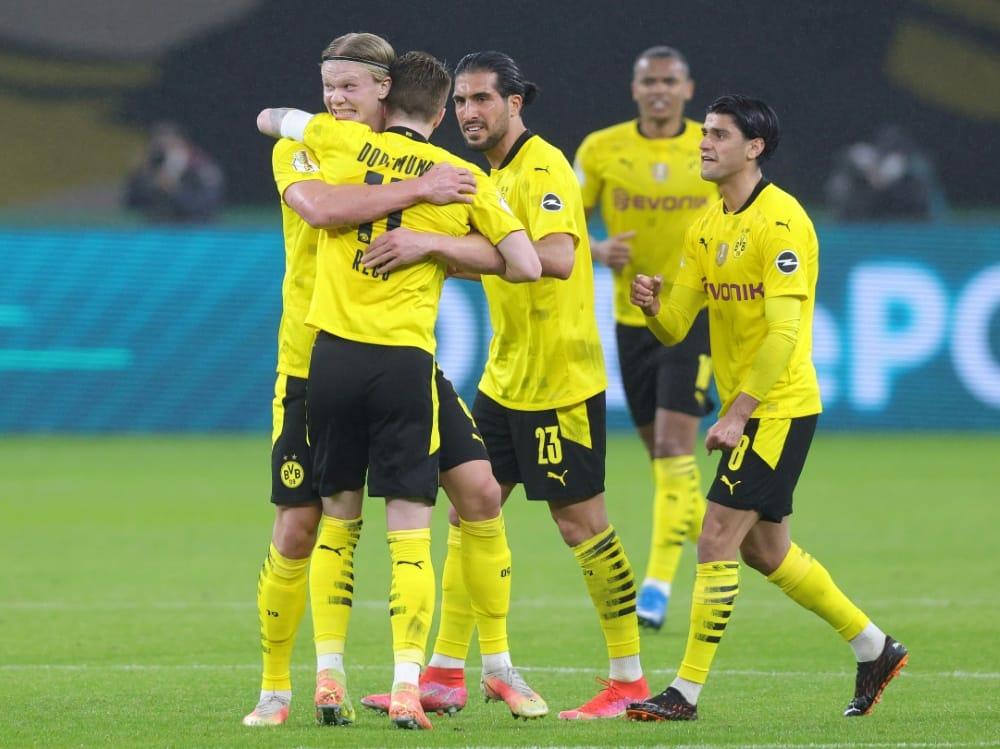 Der BVB gewinnt den DFB-Pokal. ©FIRO/SID