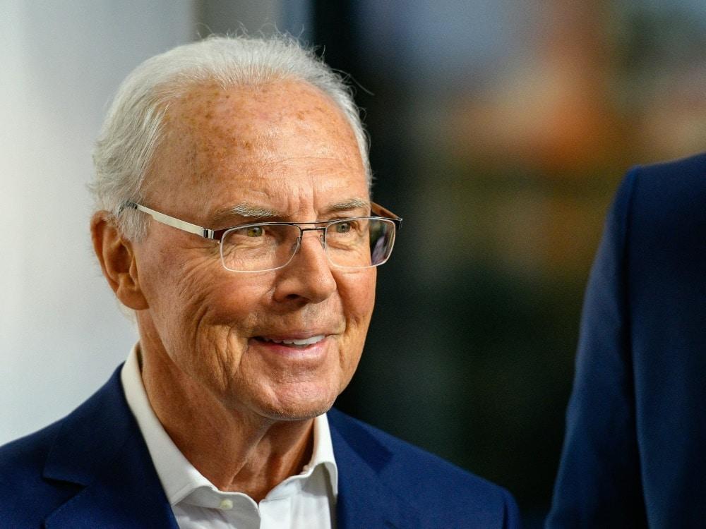 Franz Beckenbauer rechnet mit Erfolgen für Nagelsmann. ©SID SASCHA SCHUERMANN