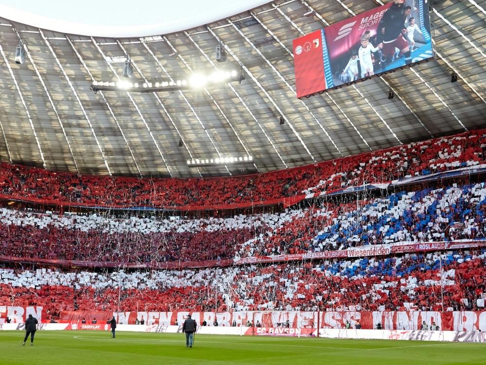 Der FC Bayern setzt im Ticketing auf Nachhaltigkeit. ©FIRO/SID