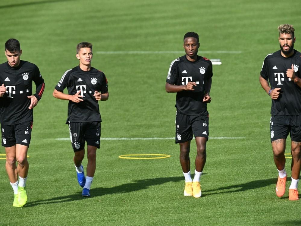 Die Bayern befinden sich im Quarantäne-Trainingslager. ©SID CHRISTOF STACHE