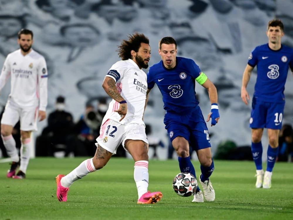 Marcelo im Rückspiel gegen Chelsea dabei. ©SID JAVIER SORIANO