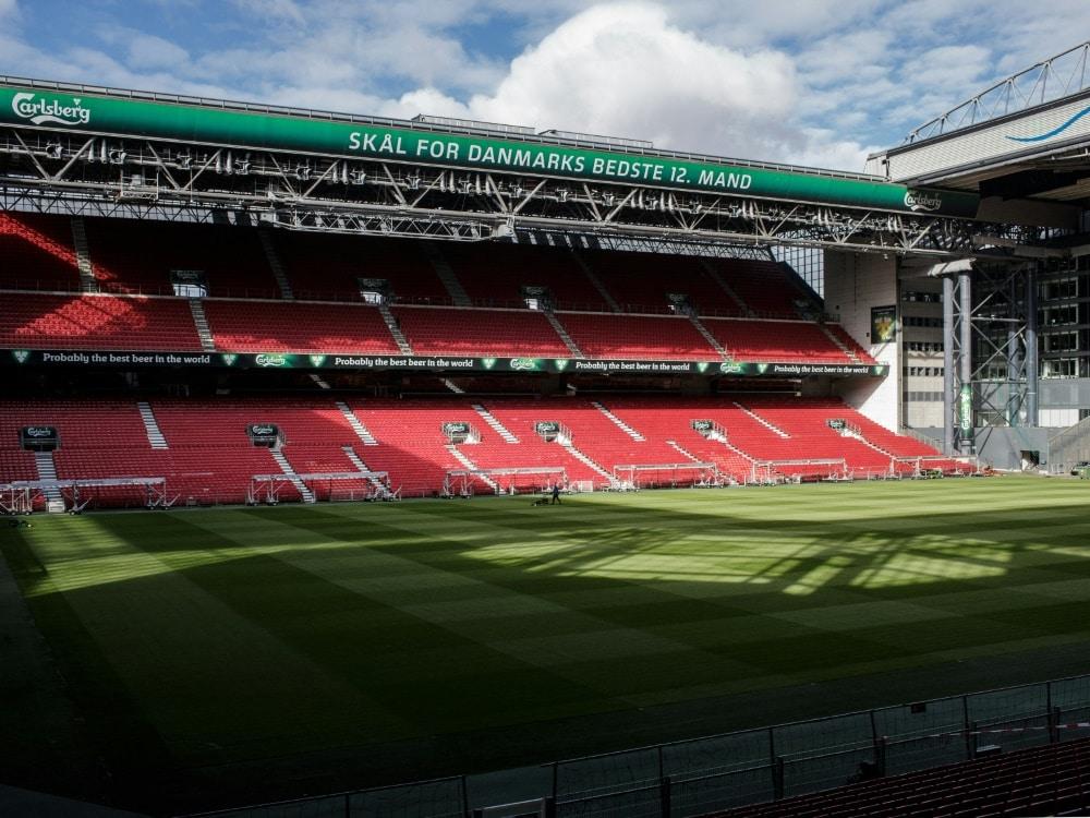 EM: Kopenhagen plant mit bis zu 15.900 Fans. ©SID THIBAULT SAVARY