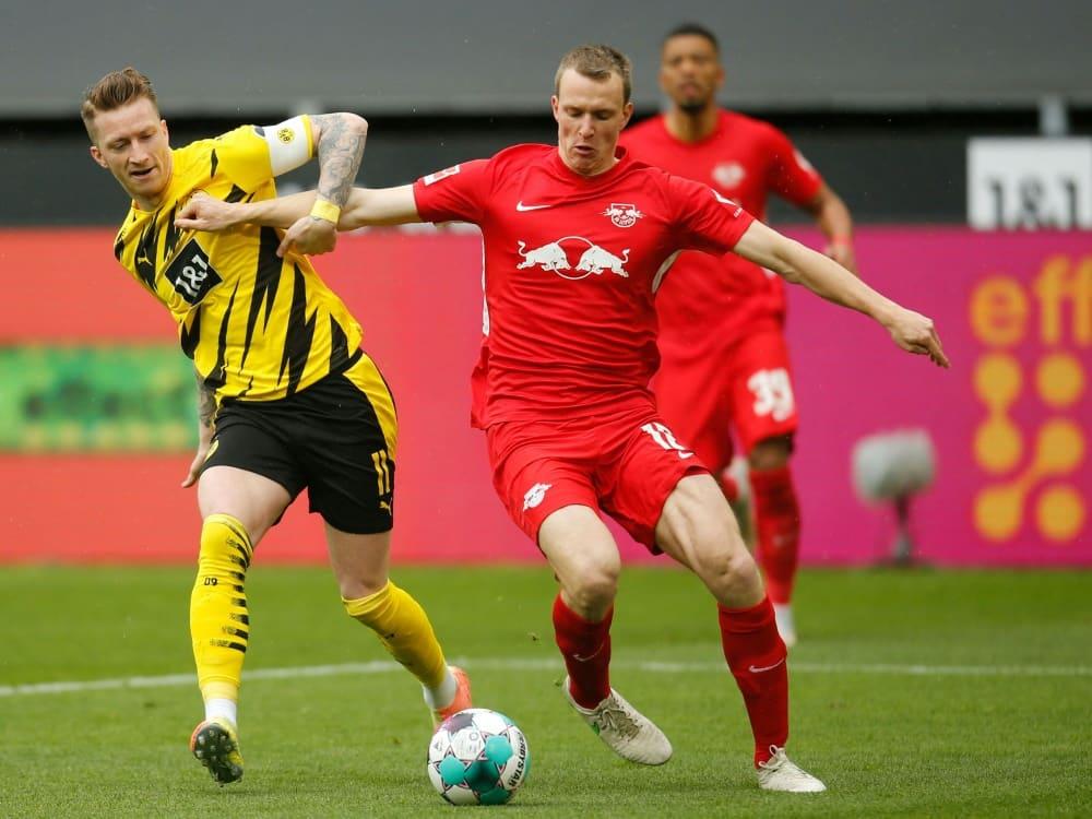 Wettanbieter sieht Dortmund und Leipzig auf Augenhöhe. ©SID LEON KUEGELER