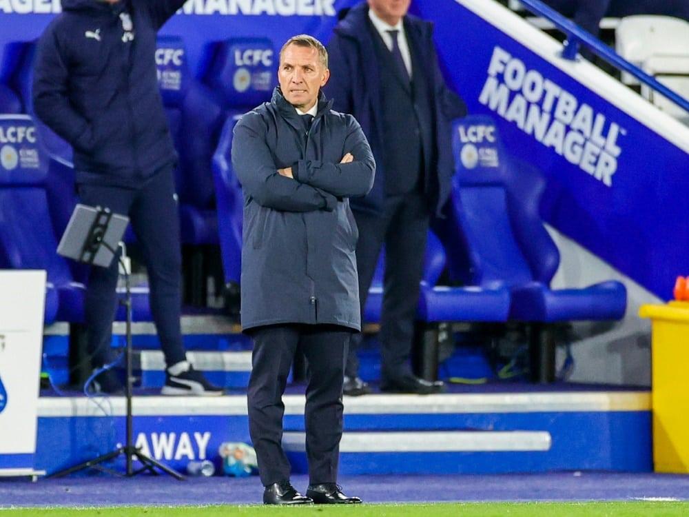 Das Team von Brendan Rodgers verliert gegen Newcastle. ©FIRO/PSI/SID