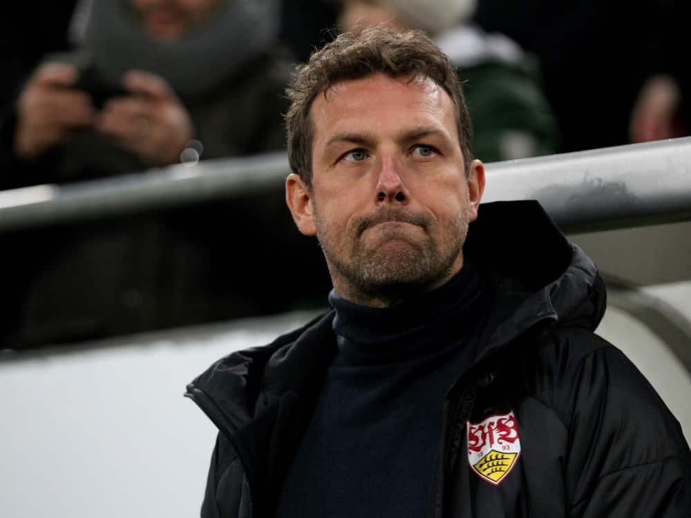 Weinzierl will mit Augsburg den Klassenerhalt schaffen. ©FIRO/SID