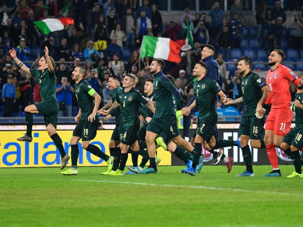 Italien beginnt mit Impfung der Nationalspieler. ©SID ALBERTO PIZZOLI