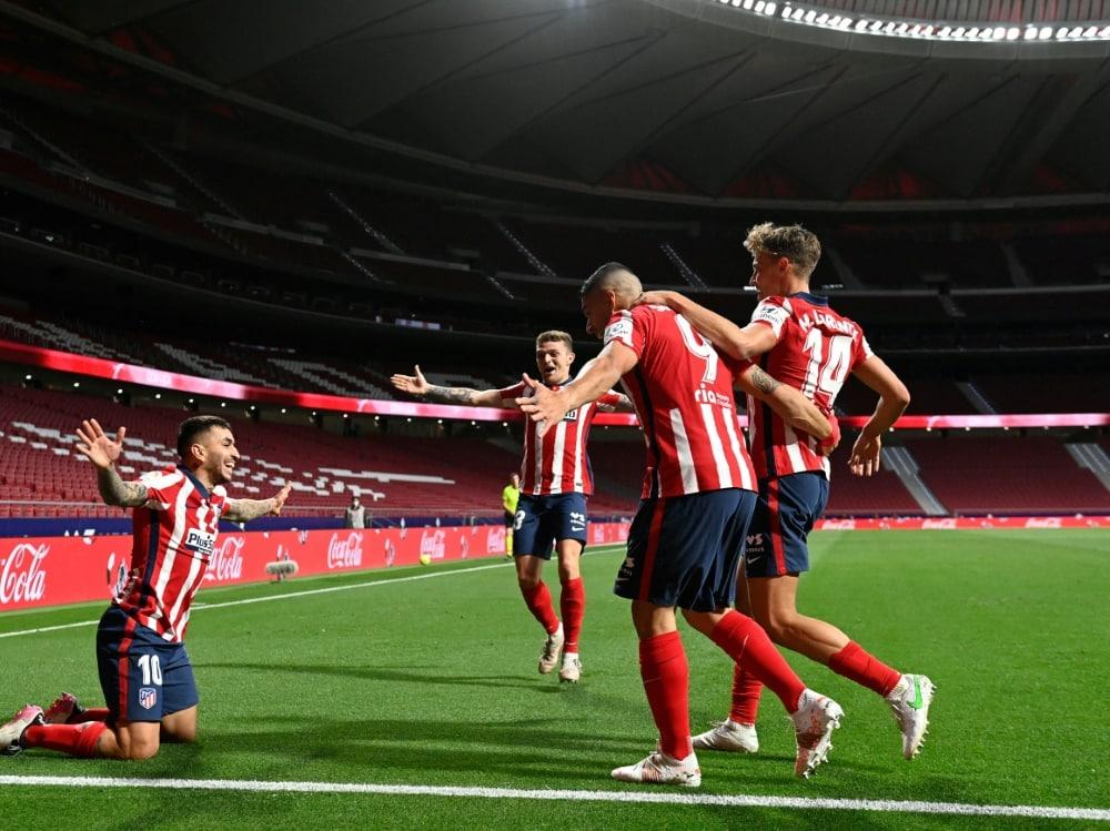 Atletico Madrid steht kurz vorm Meistertitel.. ©SID PIERRE-PHILIPPE MARCOU