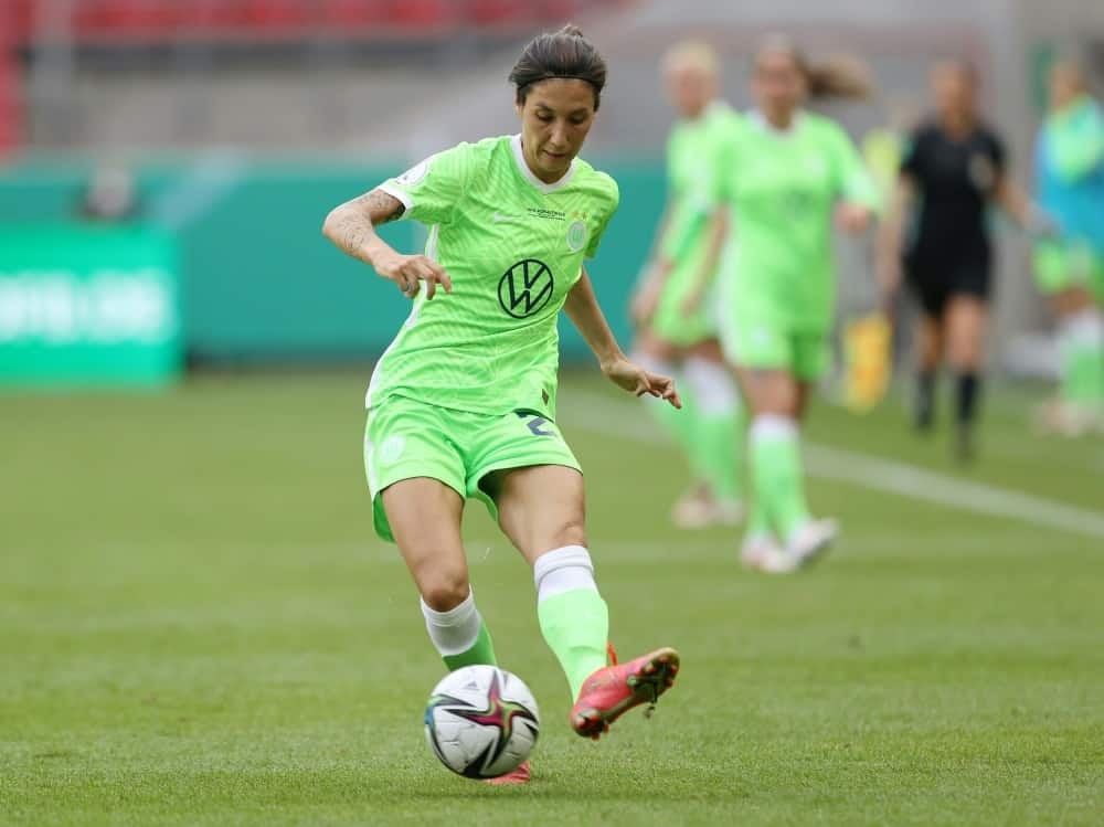 Sara Doorsoun fällt für die anstehenden Länderspiele aus. ©FIRO/SID