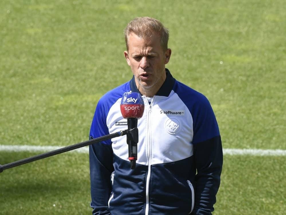 Markus Anfang will sich aus der 2. Liga rauskämpfen. ©SID FABIAN BIMMER