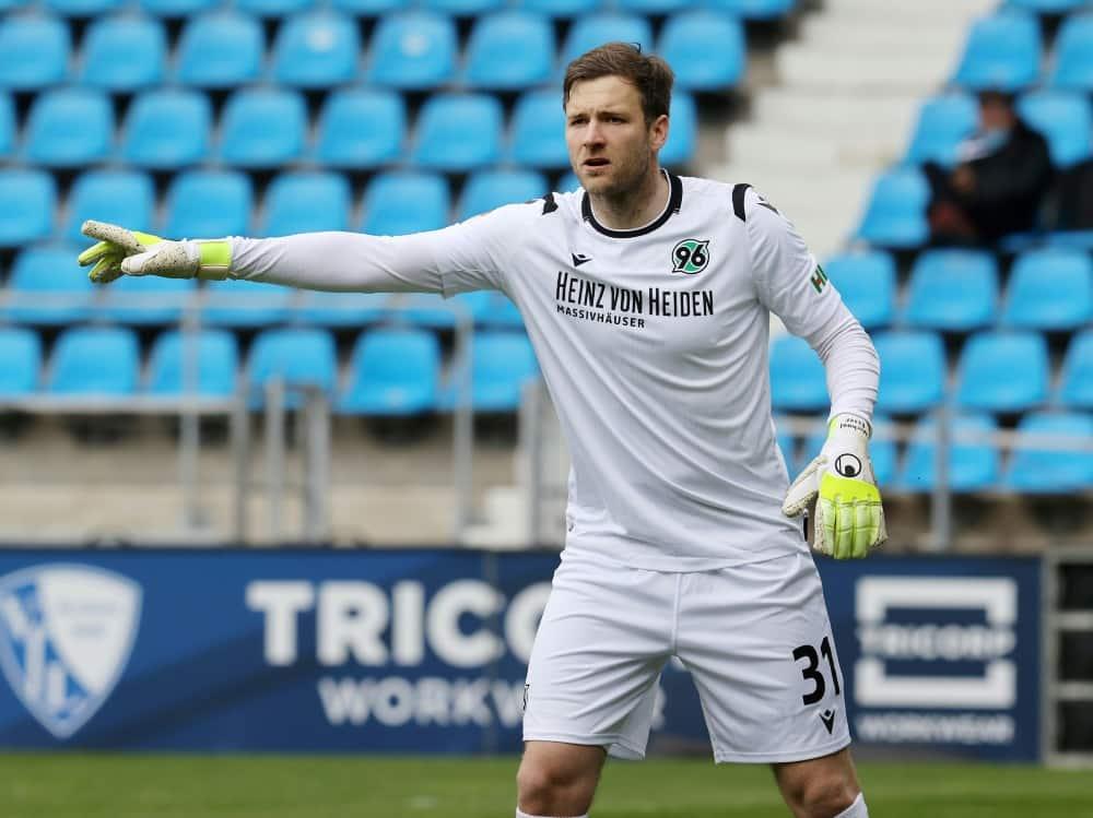 Torwart Michael Esser kehrt zum VfL Bochum zurück. ©FIRO/SID