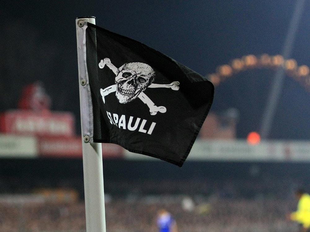 Der FC St. Pauli startet ein Recycling-Projekt. ©FIRO/SID