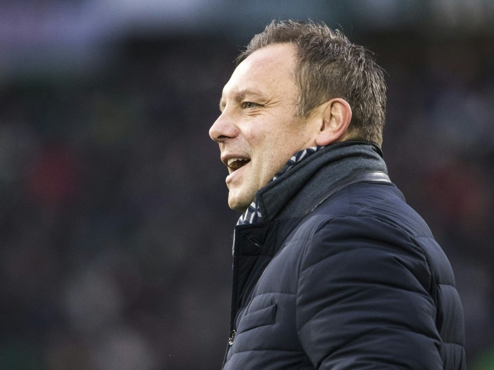 Andre Breitenreiter wird Trainer vom FC Zürich. ©SID ODD ANDERSEN
