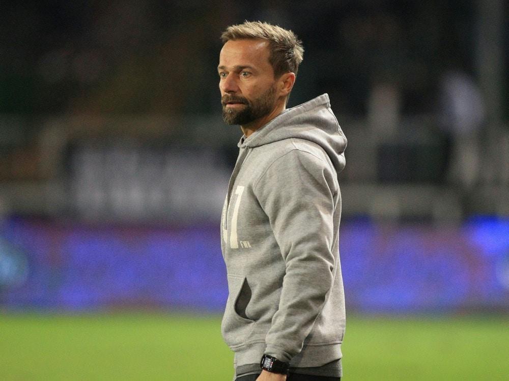 Michael Schiele wird neuer Trainer von Braunschweig. ©FIRO/SID