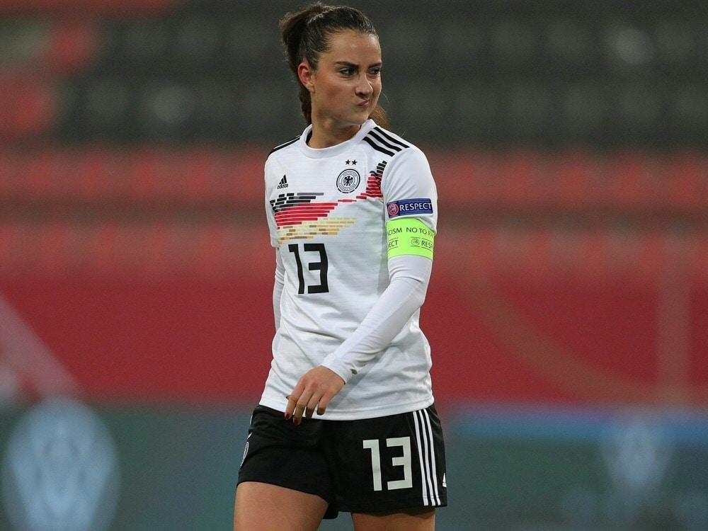 Sara Däbritz fehlt gegen Frankreich und Chile. ©FIRO/SID