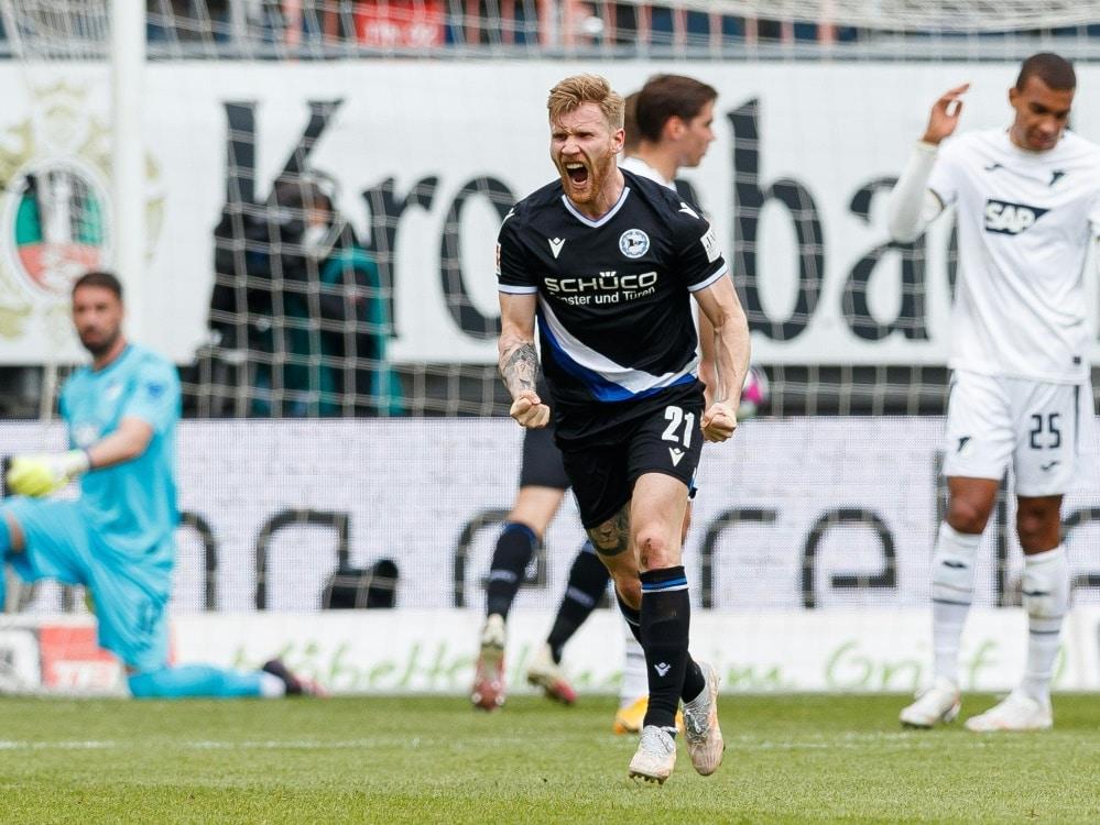 Andreas Voglsammer wechselt zu Union Berlin. ©FIRO/SID