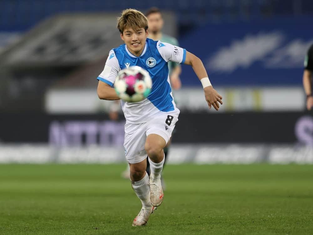 Ritsu Doan muss Armina Bielefeld verlassen. ©firo Sportphoto/SID
