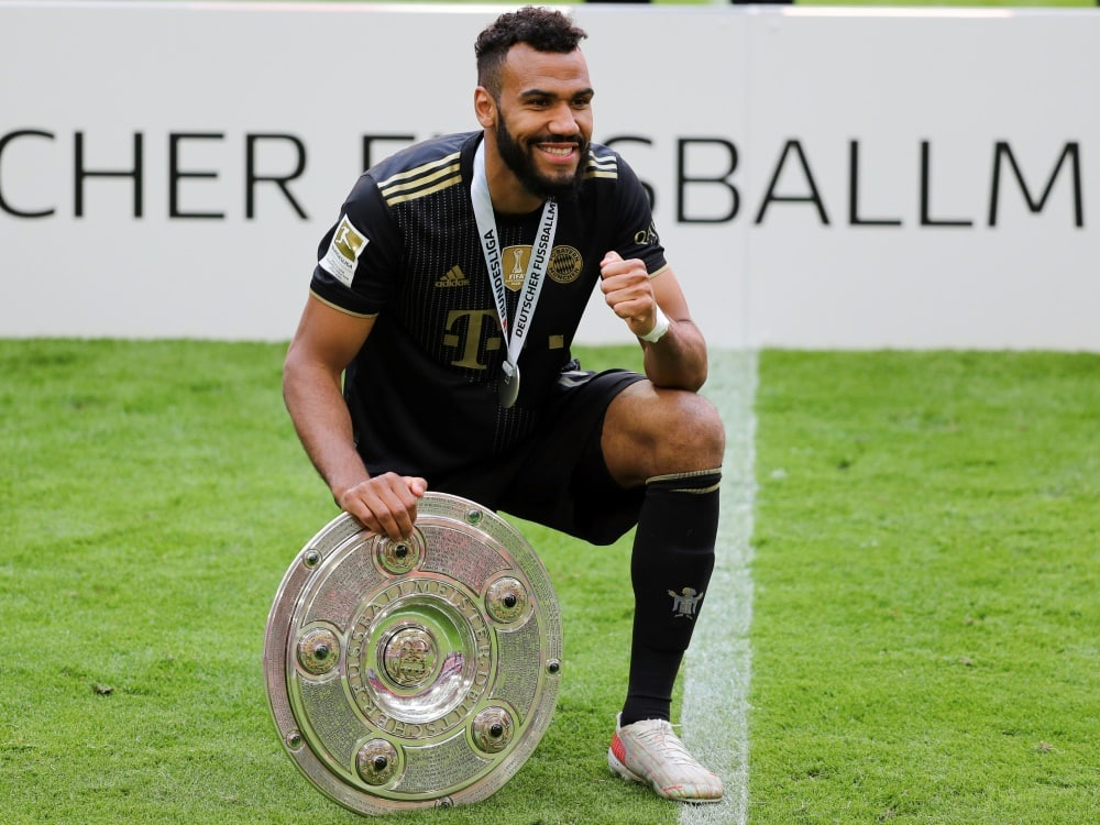 Eric Maxim Choupo-Moting bleibt den Bayern erhalten. ©FIRO/SID