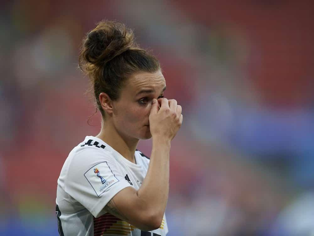 Lina Magull wird zwei Länderspiele verpassen . ©SID JOSE BRETON