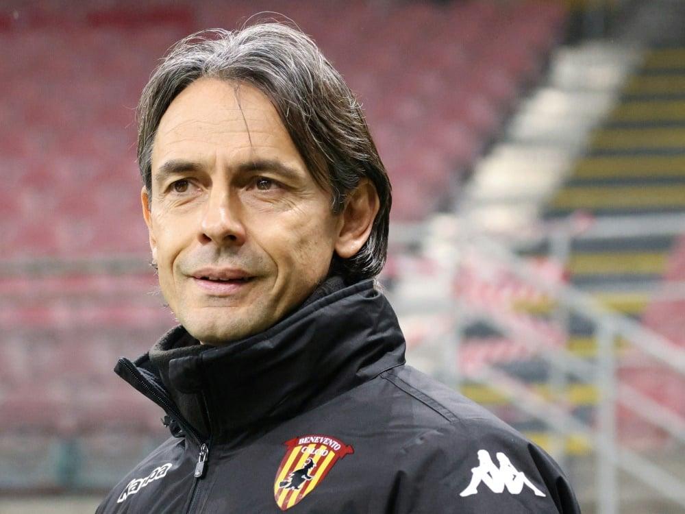 Filippo Inzaghi wird Trainer von Brescia Calcio. ©FIRO/SID