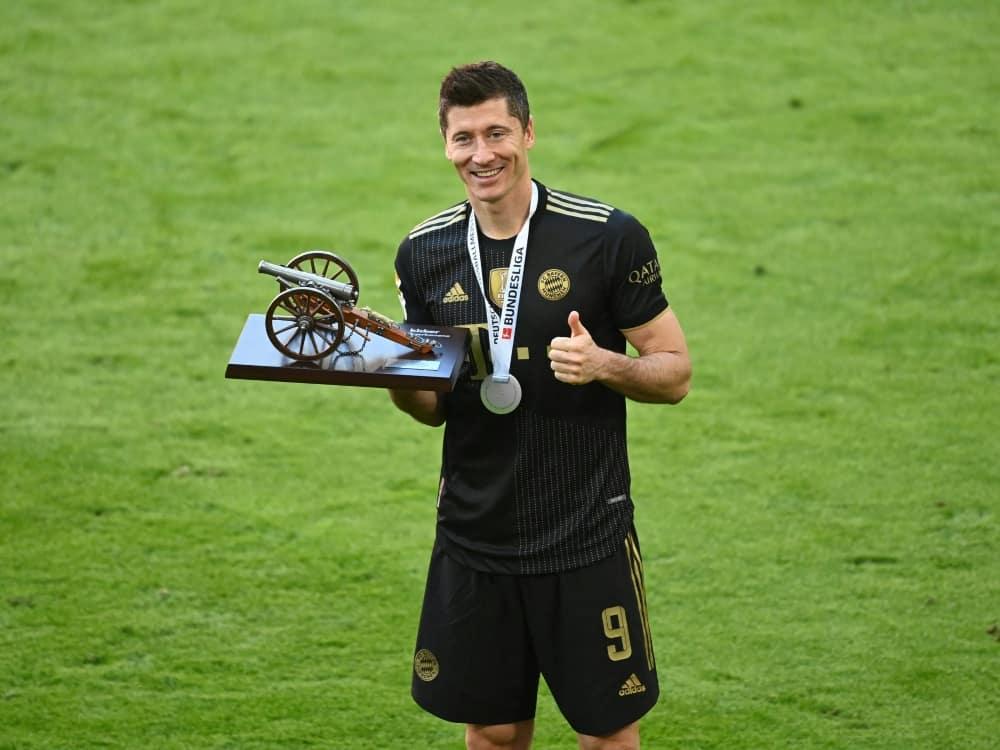 Lewandowski ist der VDV-Spieler der Saison. ©SID SVEN HOPPE