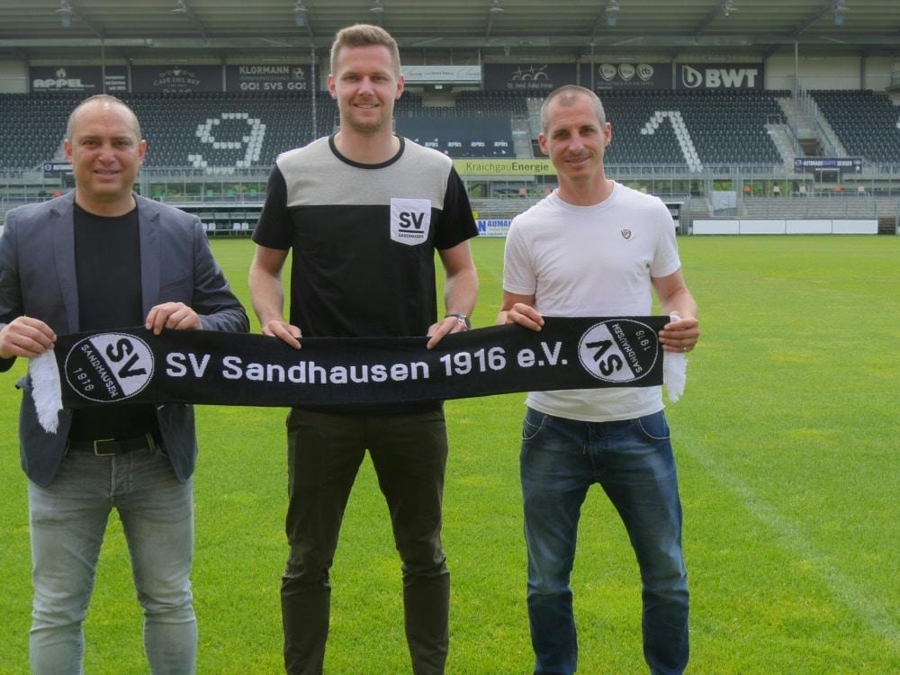 Drewes kommt vom VfL Bochum nach Sandhausen. ©SV SANDHAUSEN/SV SANDHAUSEN