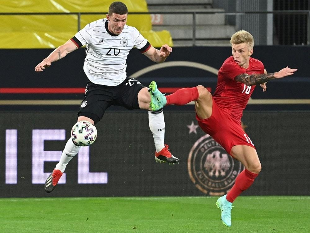 Wird häufiger mit Podolski verwechselt: Robin Gosens. ©SID FEDERICO GAMBARINI