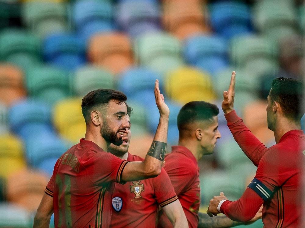 Portugal gewinnt den letzten EM-Test deutlich. ©SID PATRICIA DE MELO MOREIRA