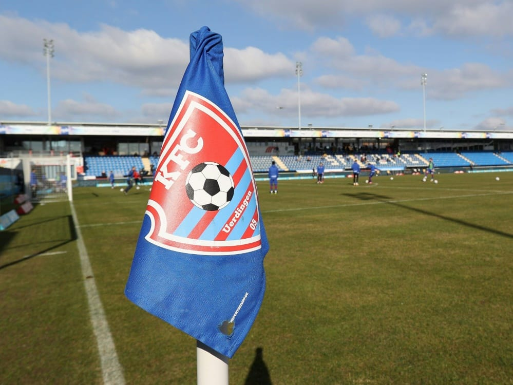 3. Liga: Keine Lizenz für den KFC Uerdingen. ©FIRO/SID