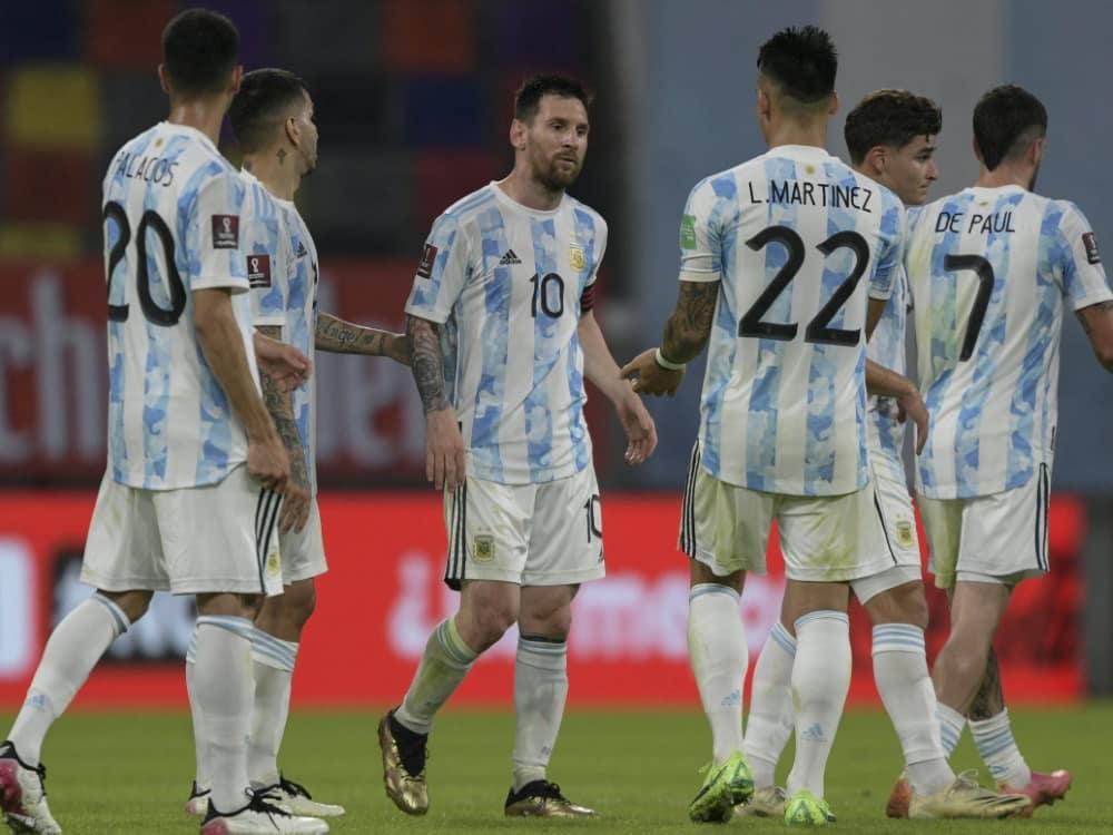 Copa America: Argentinien schlägt Camp zuhause auf. ©SID JUAN MABROMATA