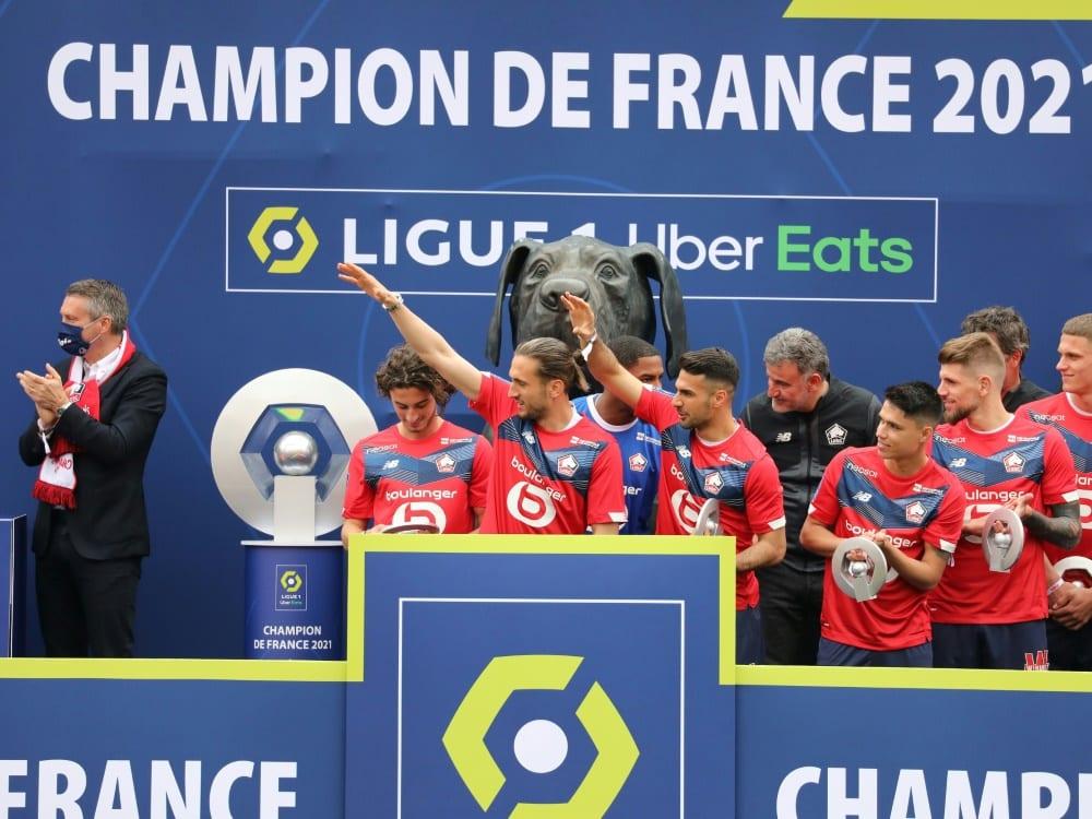 Die Ligue 1 reduziert zur Saison 2023/2024 auf 18 Teams . ©SID Laurent Sanson