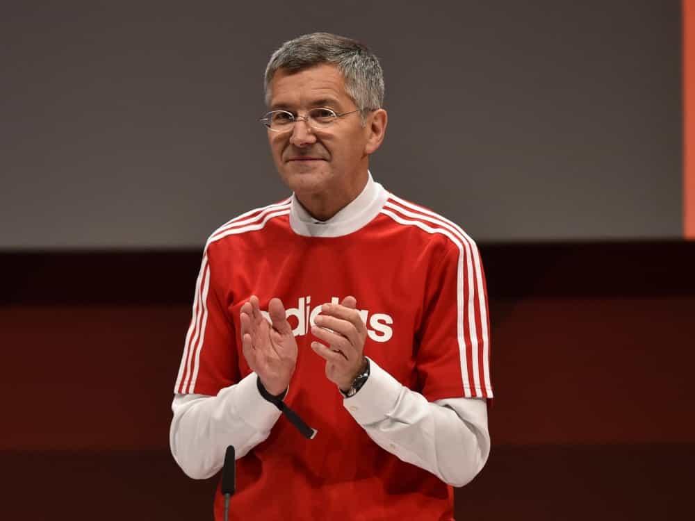 Präsident Herbert Hainer von Bayern München. ©SID CHRISTOF STACHE