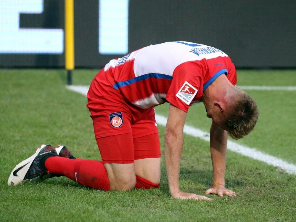 Schnatterer verlässt nach 13 Jahren Heidenheim. ©FIRO/SID