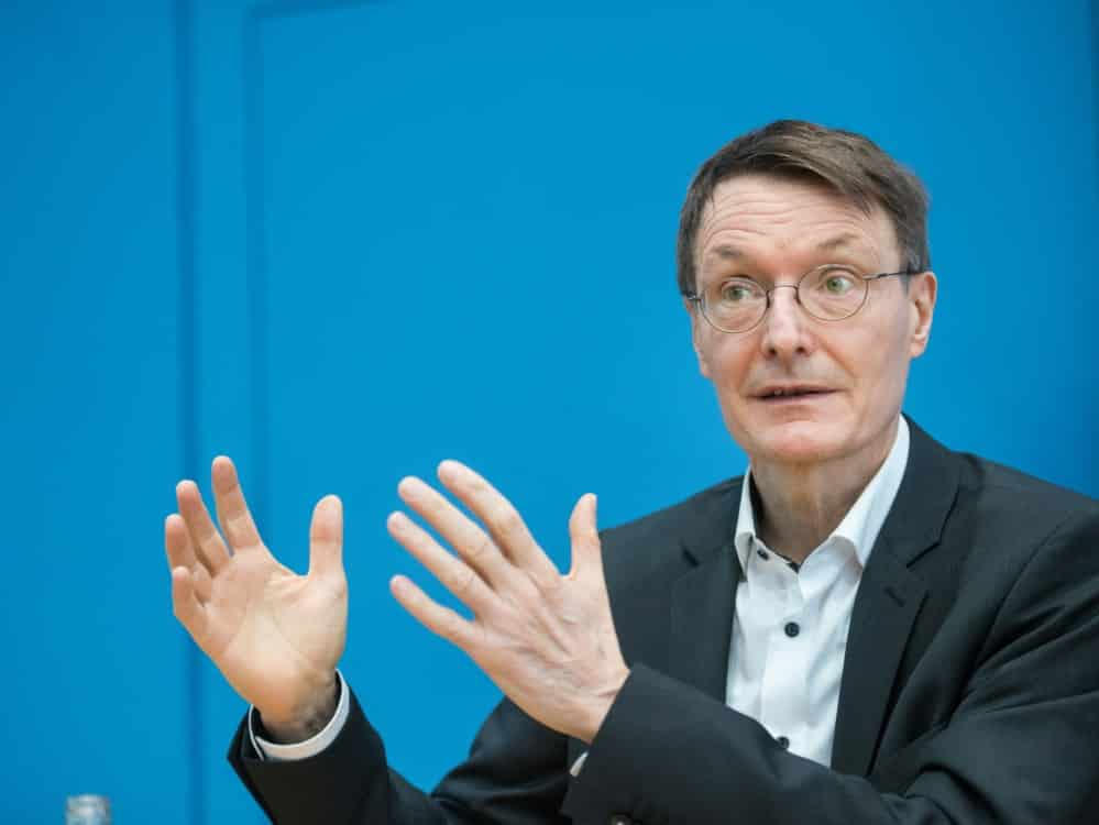 Lauterbach: EM wird keine Infektionswelle auslösen . ©SID STEFANIE LOOS