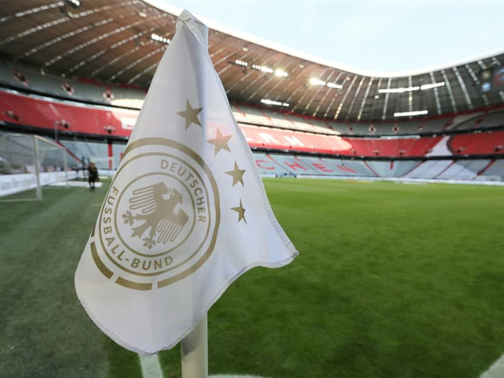 Das DFB-Team soll in München vor 14.000 Fans spielen . ©FIRO/SID