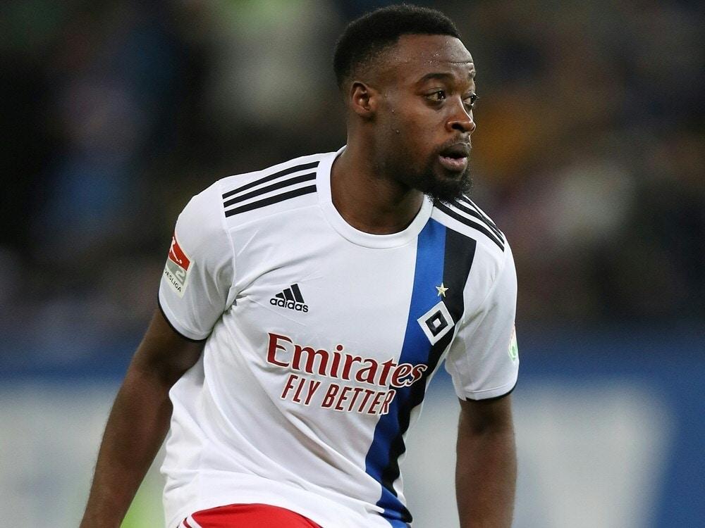 Der Hamburger SV löst den Vertrag mit Khaled Narey auf. ©FIRO/SID