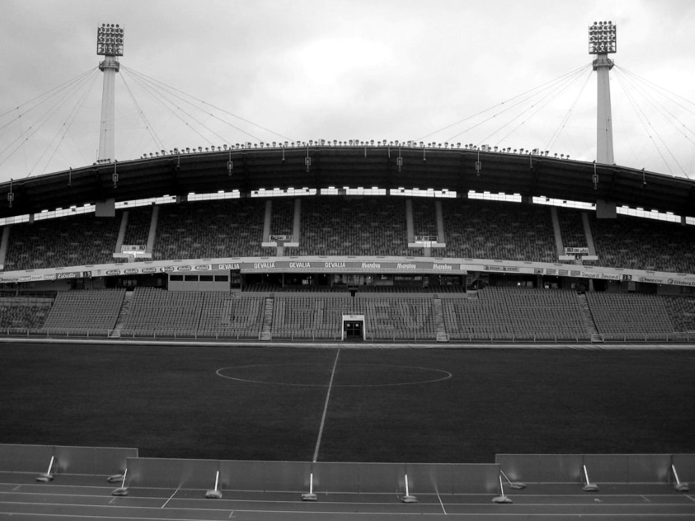 """Im Ullevi-Stadion fand die """"Schlacht von Göteborg"""" statt. ©SID GABRIEL BOUYS"""