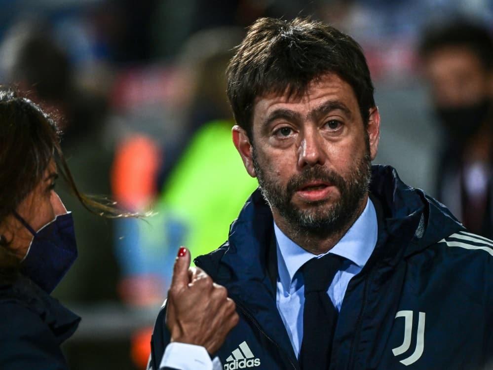"""Für Agnelli ist die Idee der Super League ein """"Hilferuf"""". ©SID MIGUEL MEDINA"""