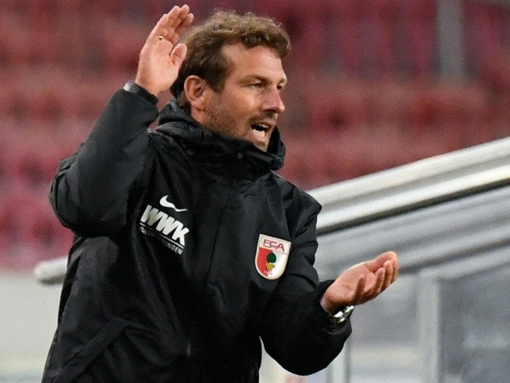FCA: Weinzierl startet am 1. Juli in Saisonvorbereitung. ©SID THOMAS KIENZLE
