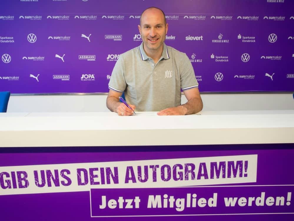 Daniel Scherning wird Cheftrainer in Osnabrück. ©VFL OSNABRÜCK/VFL OSNABRÜCK