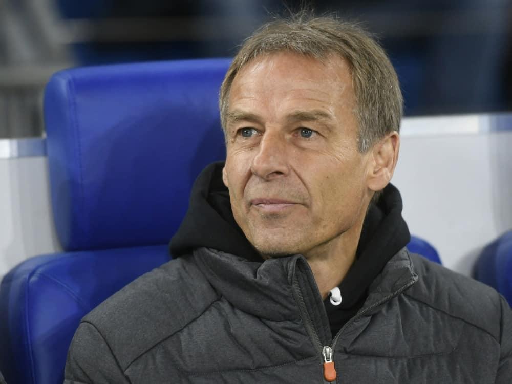 Jürgen Klinsmann findet lobende Worte für den Rückkehrer. ©SID INA FASSBENDER