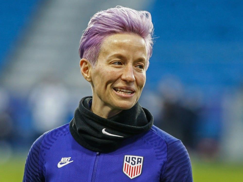 Steht im Olympia-Kader der US-Frauen: Megan Rapinoe. ©SID SAMEER AL-DOUMY