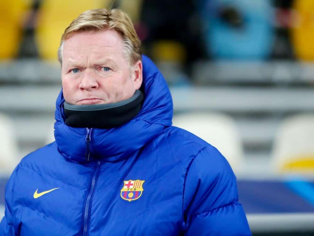 Ronald Koeman bleibt Trainer beim FC Barcelona. ©FIRO/SID