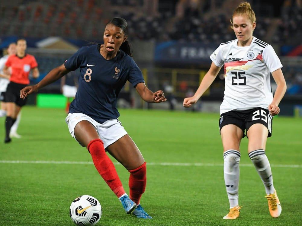 Die DFB-Frauen verlieren gegen Frankreich. ©SID PATRICK HERTZOG