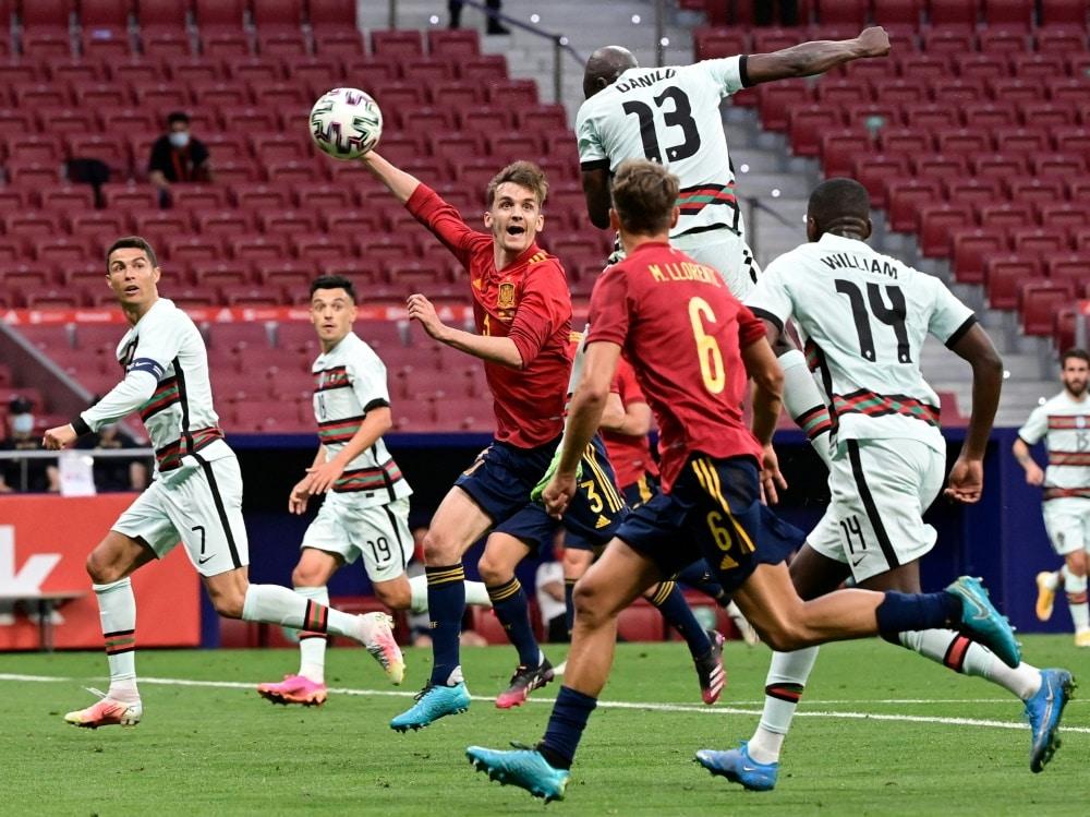 Das EM-Vorbereitungsspiel in Madrid endetete torlos. ©SID JAVIER SORIANO