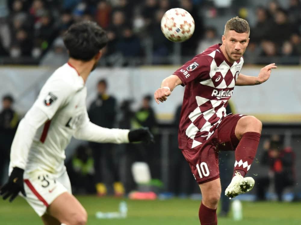 Podolski denkt noch nicht ans Karriereende. ©SID KAZUHIRO NOGI
